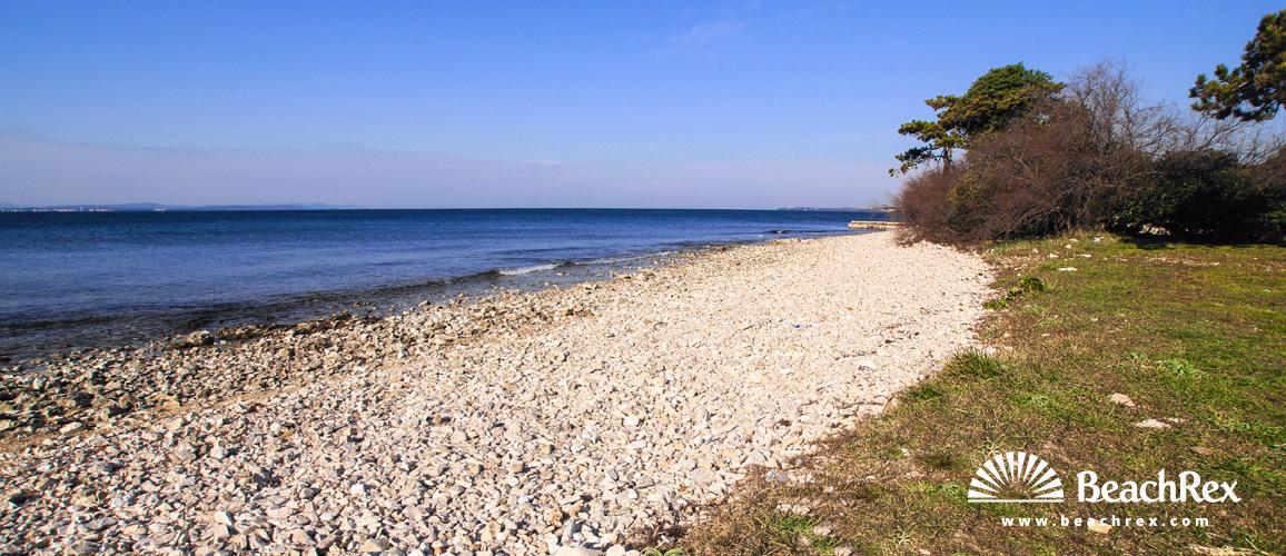 Croatia - Dalmatia  Zadar -  Zadar - Beach Rt Puntamika