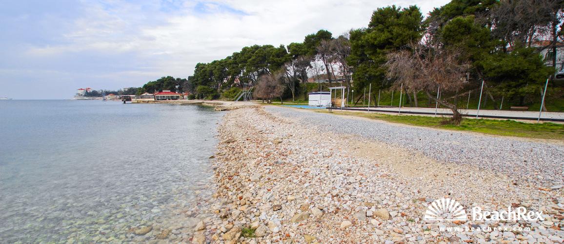 Hrvaška - Dalmacija  Zadar -  Zadar - Plaža Kolovar