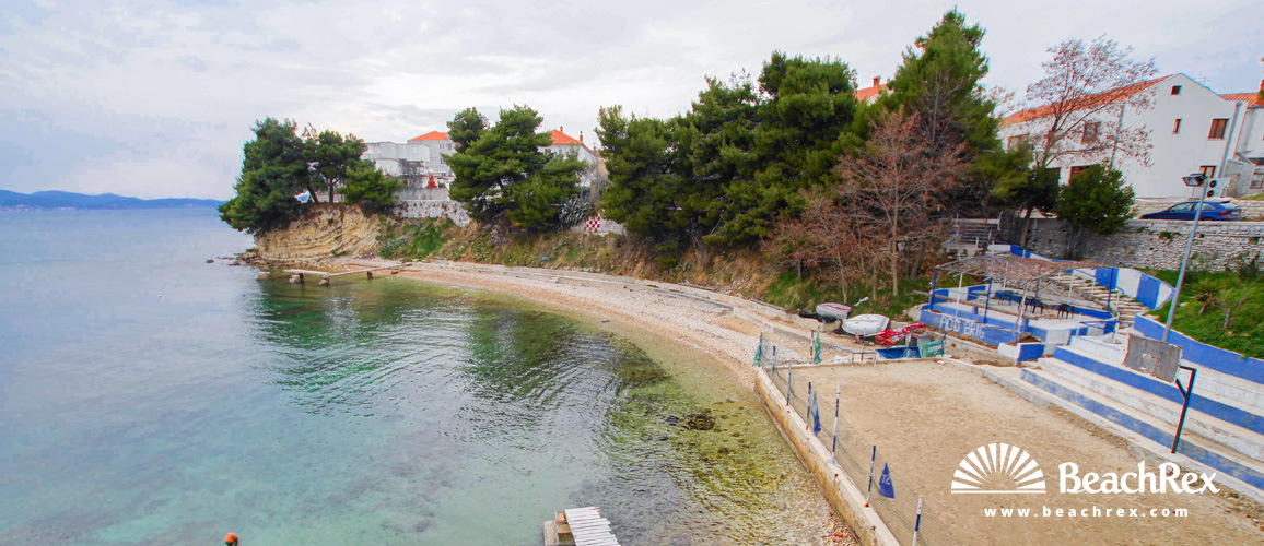 Croatia - Dalmatia  Zadar -  Zadar - Beach Podbrig