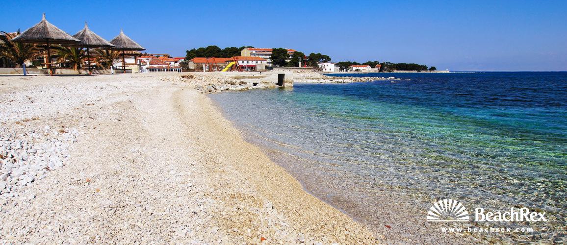 Hrvatska - Dalmacija  Zadar - Otok Ugljan -  Ugljan - Plaža Ugljan