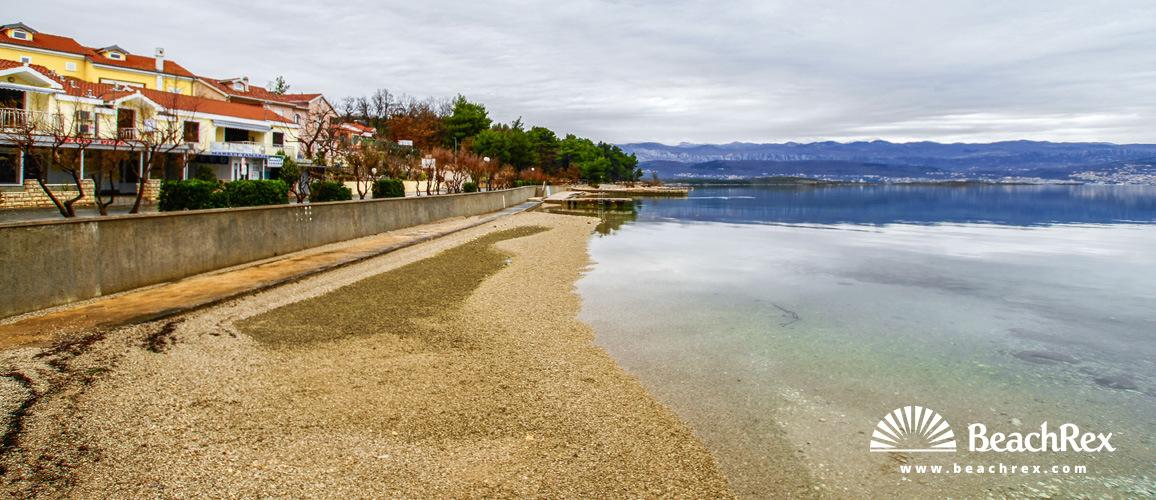 Croatia - Kvarner - Island Krk -  Čižići - Beach Meline