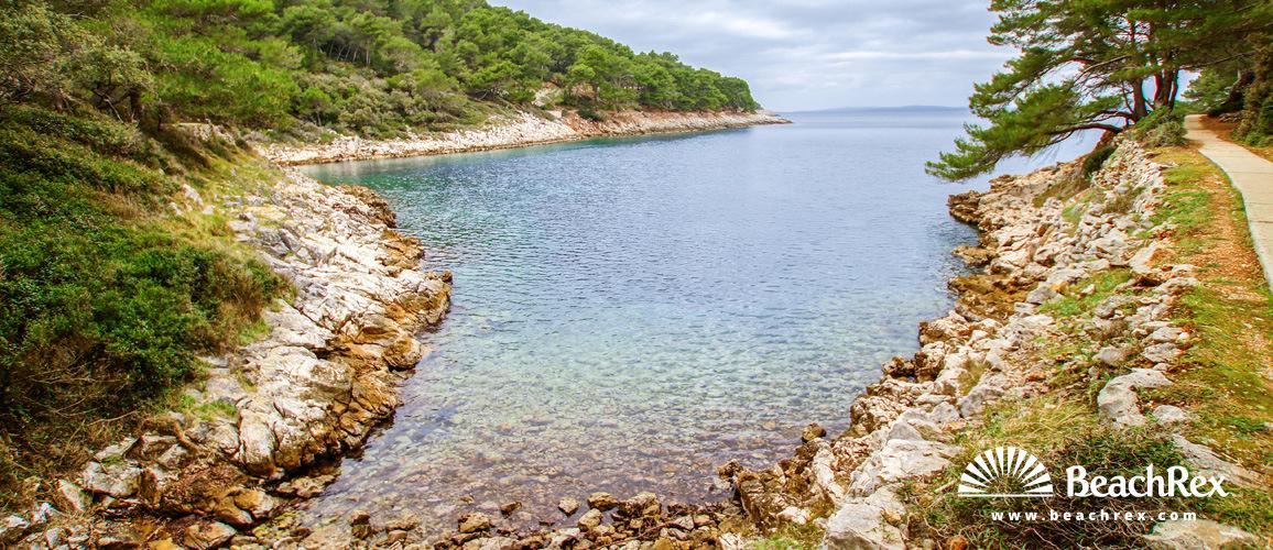 Hrvatska - Kvarner - Otok Lošinj -  Veli Lošinj - Plaža Vale Škura