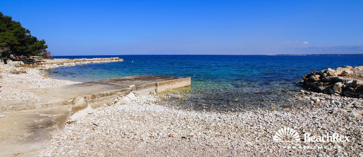 Croatia - Dalmatia  Zadar - Island Ugljan -  Ugljan - Beach Tratica