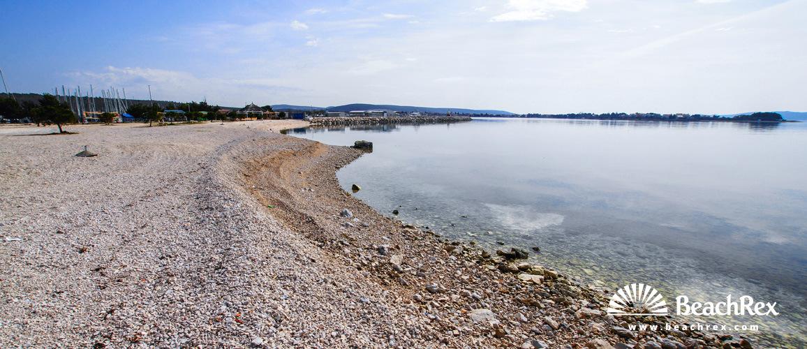 Hrvatska - Dalmacija  Zadar -  Bibinje - Plaža Punta Bibinje
