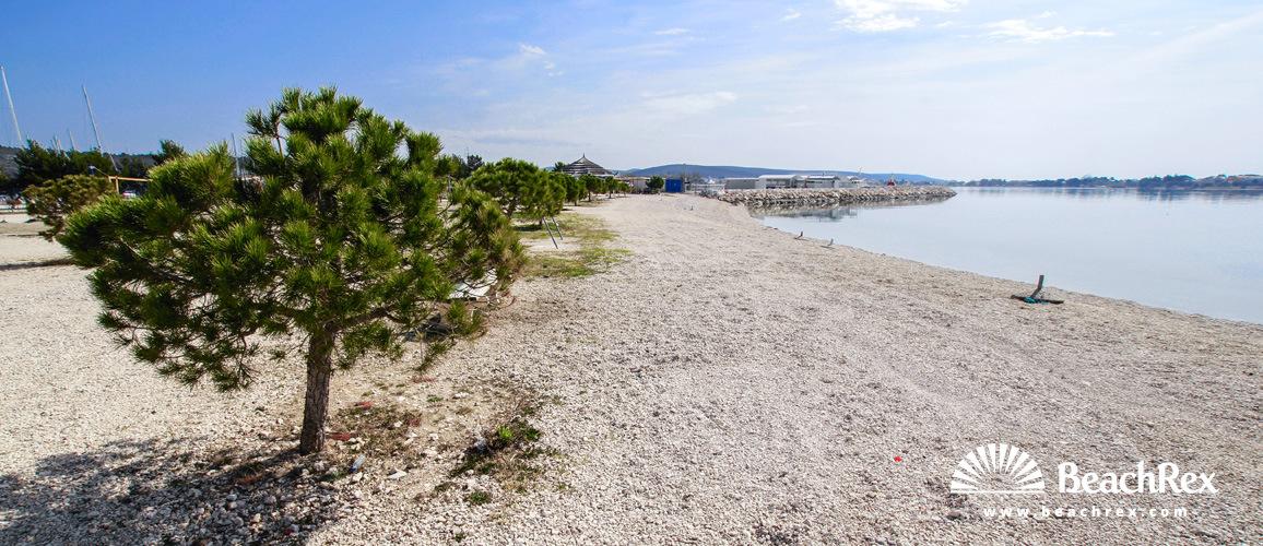 Croatia - Dalmatia  Zadar -  Bibinje - Beach Punta Bibinje