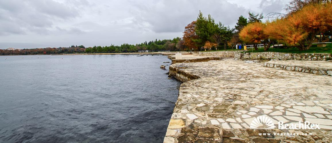 Hrvaška - Istra -  Vrsar - Plaža Orsera