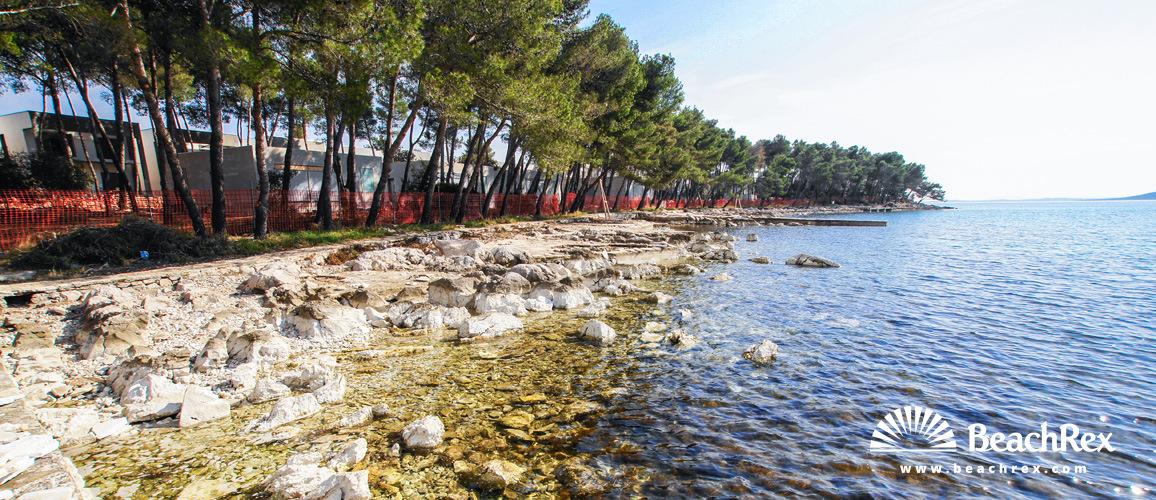 Croatia - Dalmatia  Zadar -  Biograd na Moru - Beach Crvena Luka
