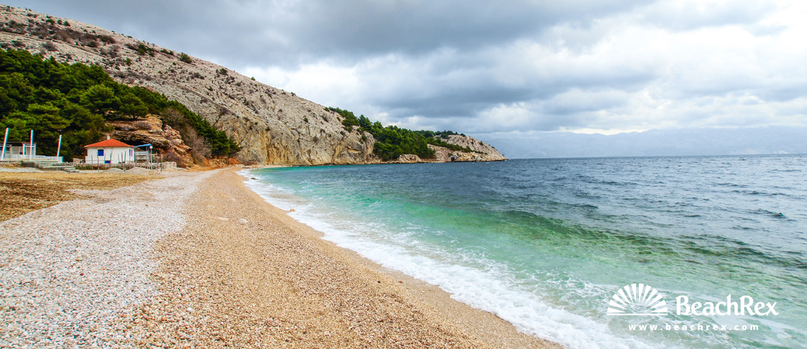 Hrvatska - Kvarner - Otok Krk -  Baška - Plaža Bunćuluka