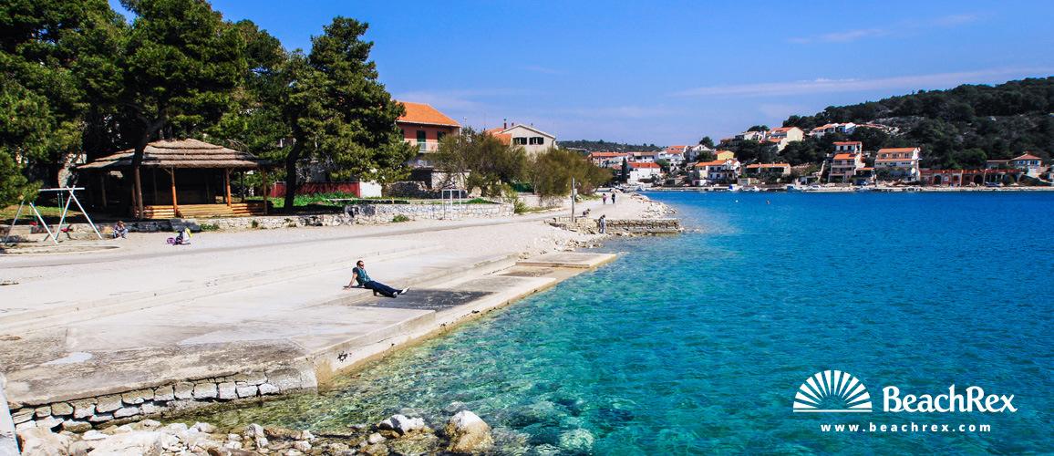 Croatia - Dalmatia  Šibenik -  Tisno - Beach Tisno