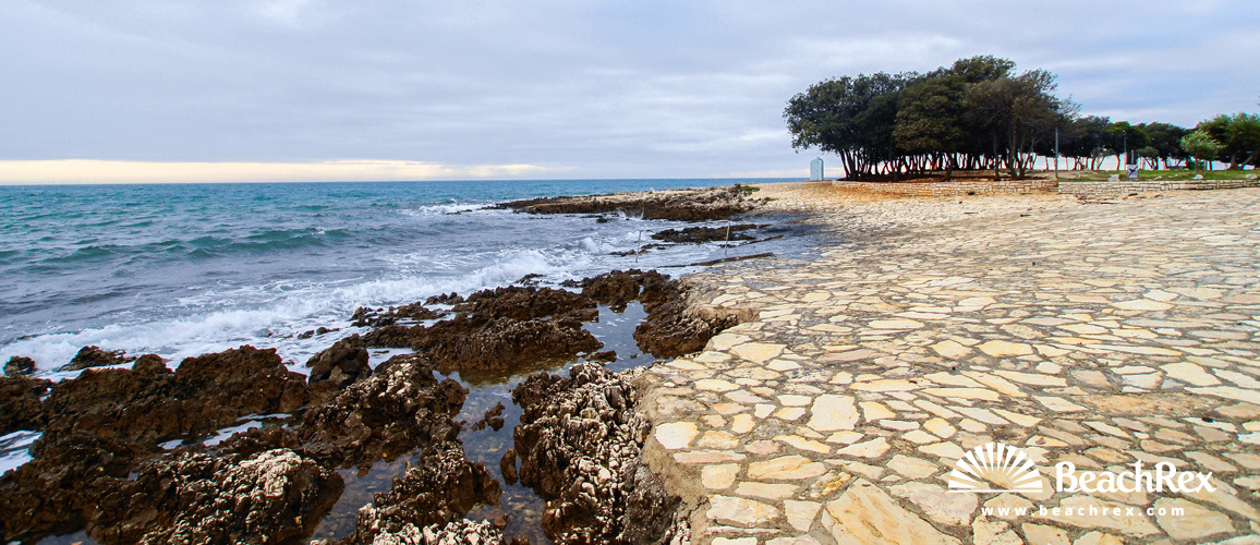 Croatia - Istra -  Vrsar - Beach Koversada