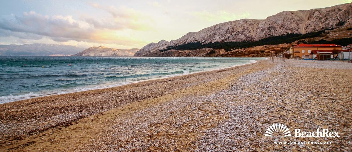 Croatia - Kvarner - Island Krk -  Baška - Vela Beach