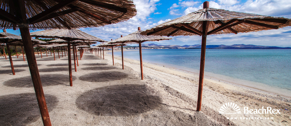 Hrvatska - Dalmacija  Šibenik -  Šibenik - Plaža Solaris