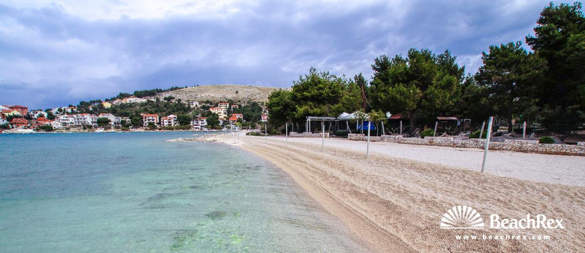 Hrvatska - Dalmacija  Šibenik -  Žaborić - Plaža Jesenovo