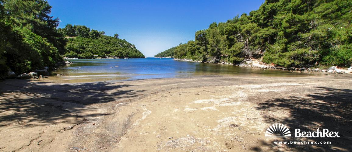 Croatia - Dalmatia  Dubrovnik - Island Korčula -  Brna - Beach Istruga