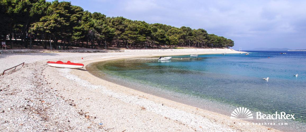 Croatia - Dalmatia  Šibenik -  Primošten - Gradska beach