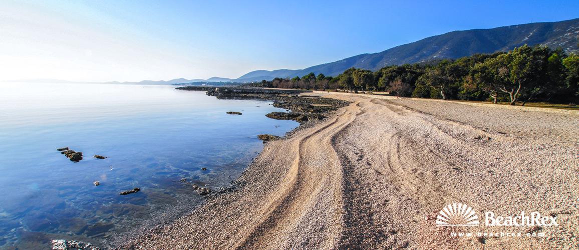Croatia - Kvarner - Island Lošinj -  Nerezine - beach Lopari