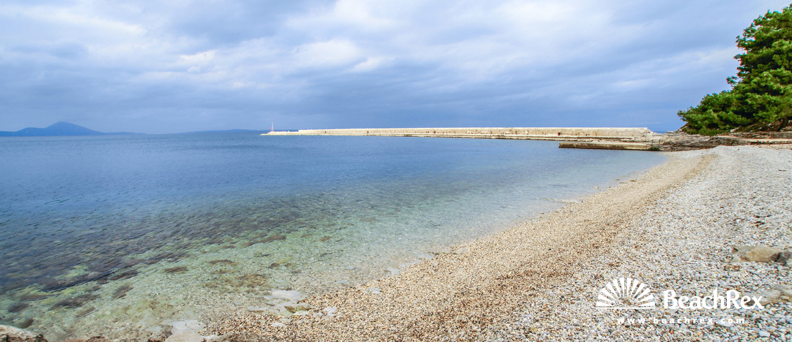 Croatia - Kvarner - Island Lošinj -  Veli Lošinj - Beach Rovenska