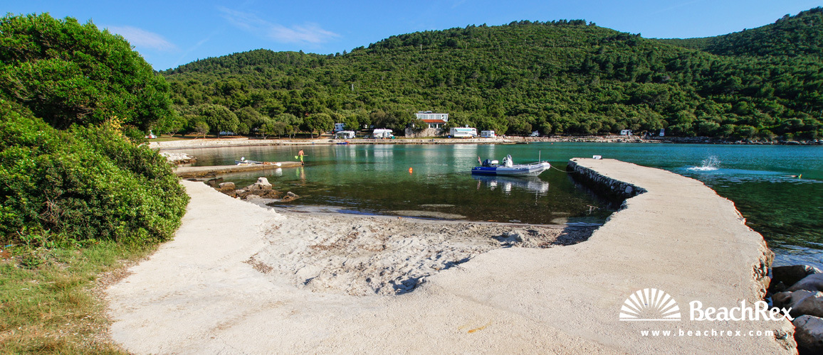 Beaches and bays - Hvar Island, Sućuraj ¦ Pebble, sandy