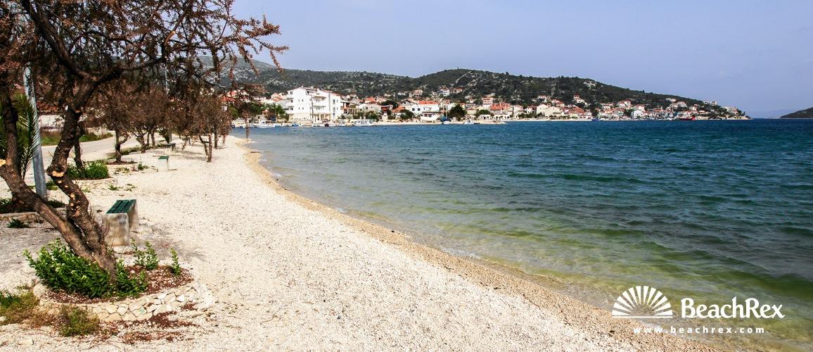 Croatia - Dalmatia  Split -  Vinišće - Beach Vinišče