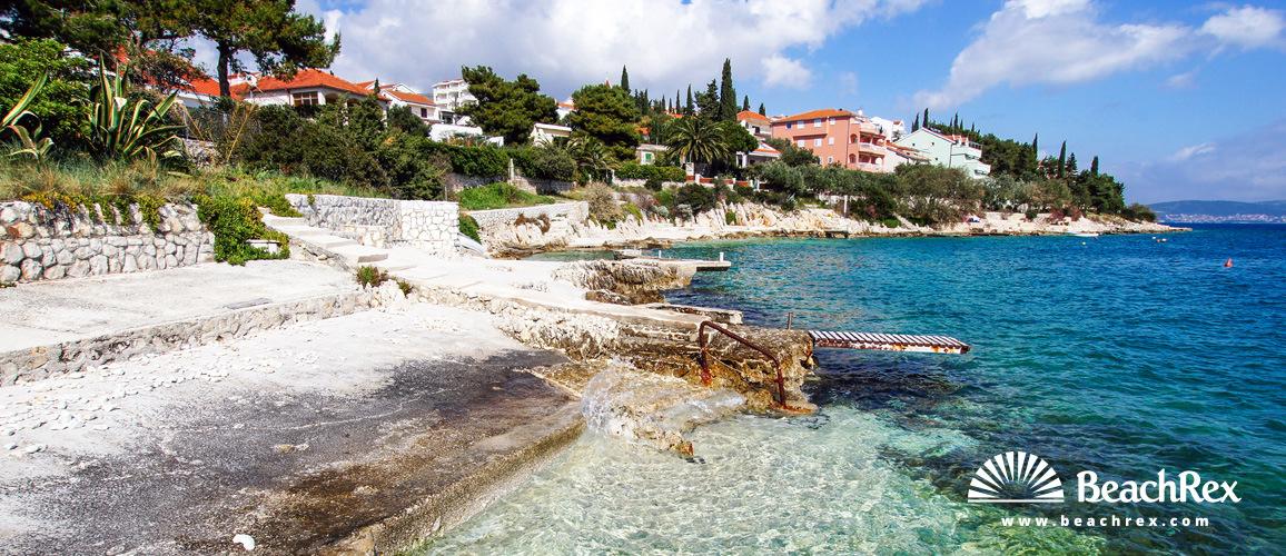 Croatia - Dalmatia  Split -  Seget Vranjica, - Beach Sedlo