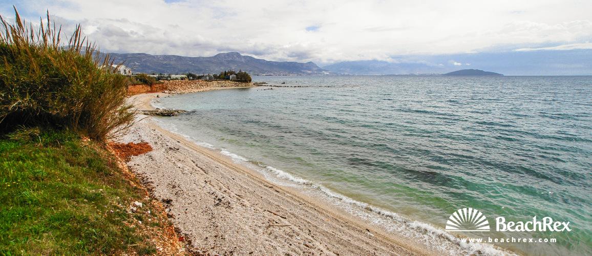 Croatia - Dalmatia  Split -  Kaštel Štafilić - Beach Divulje