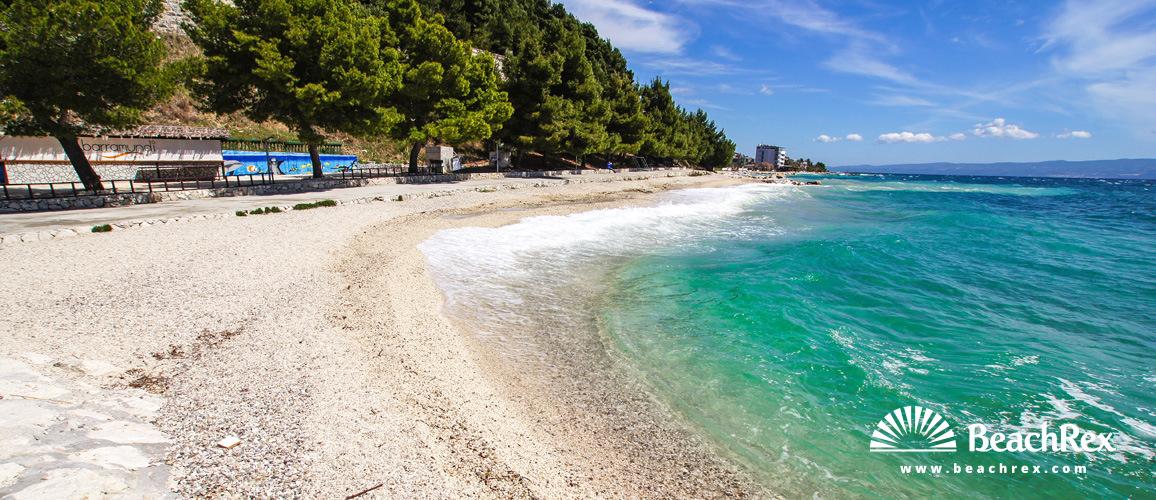 Croatia - Dalmatia  Split -  Podstrana - Beach Grljevac