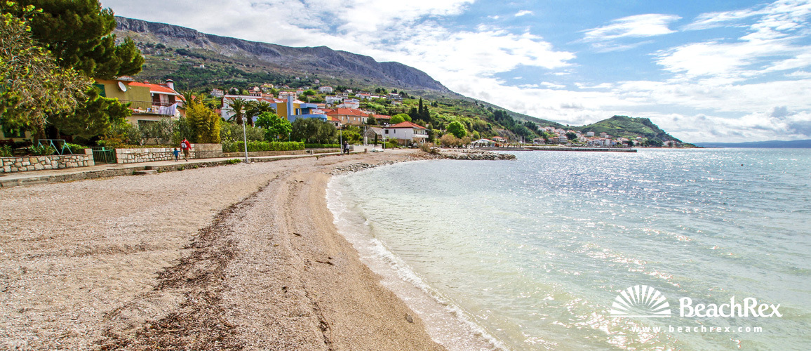 Croatia - Dalmatia  Split -  Podstrana - Beach Sv. Martin