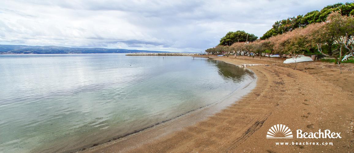 Croatia - Dalmatia  Split -  Duće - Beach Golubinka