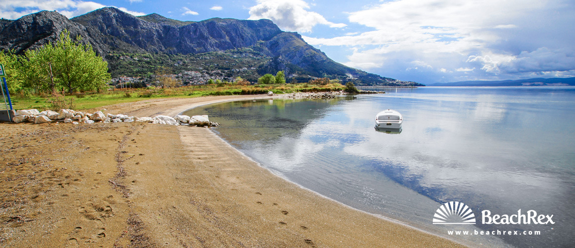 Hrvatska - Dalmacija  Split -  Duće -  Plaža Galeb