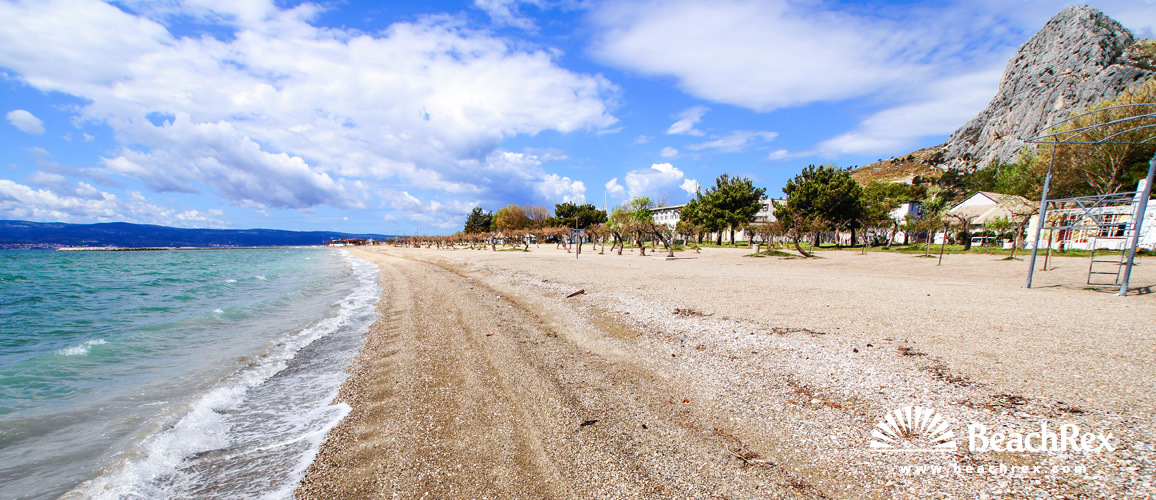 Hrvaška - Dalmacija  Split -  Omiš - Plaža Velika