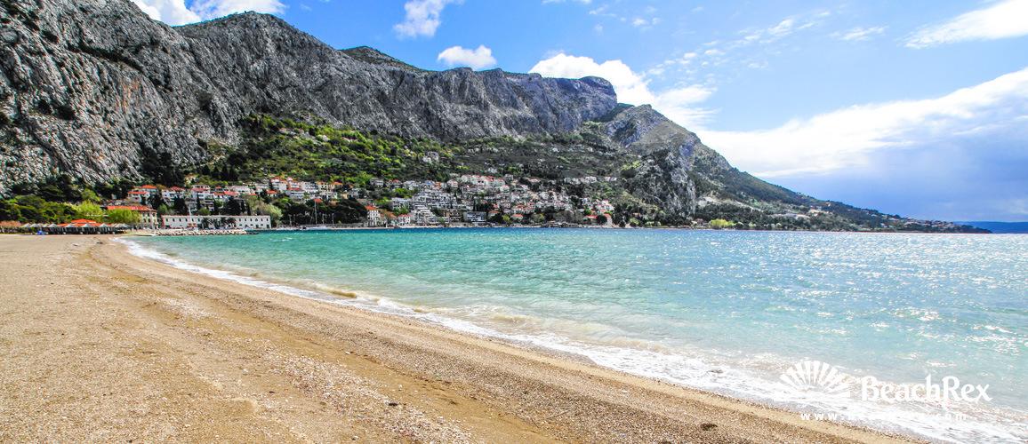 Croatia - Dalmatia  Split -  Omiš - Beach Velika