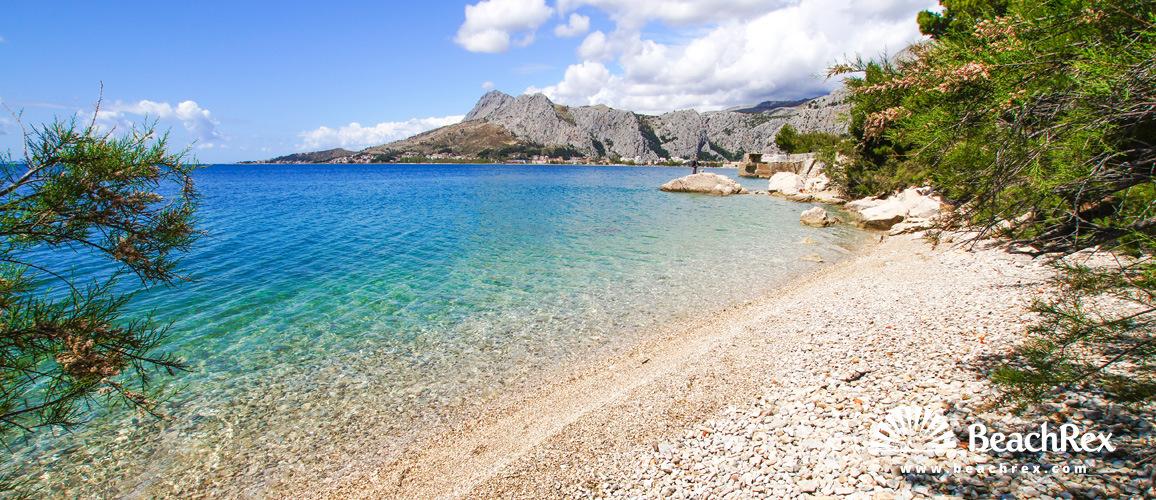 Hrvatska - Dalmacija  Split -  Omiš - Plaža Zvizdan