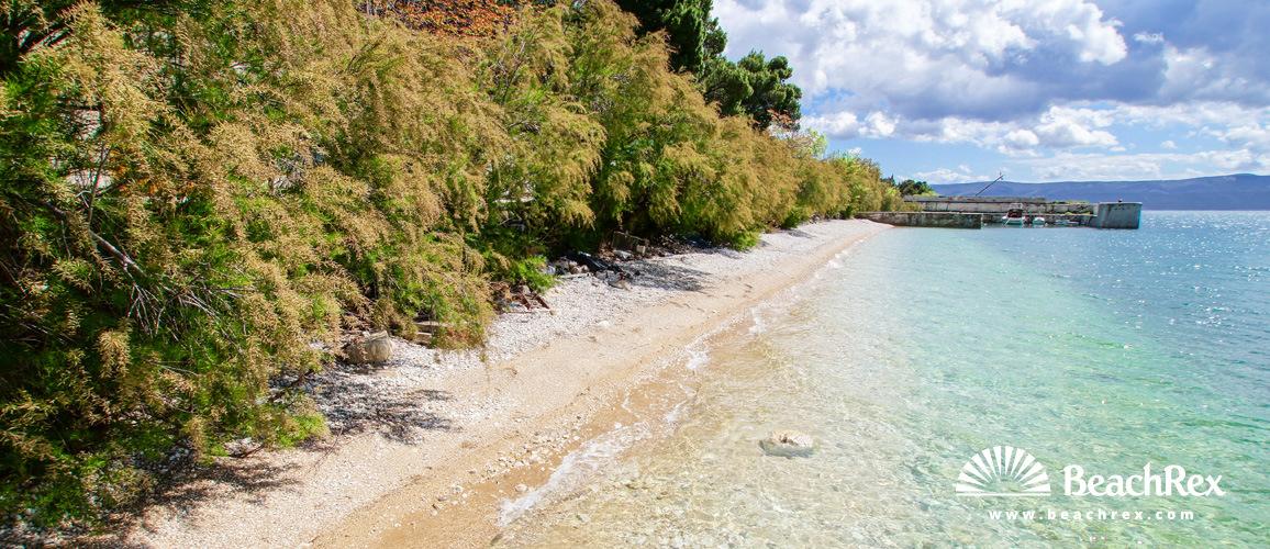 Croatia - Dalmatia  Split -  Omiš - Beach Lara