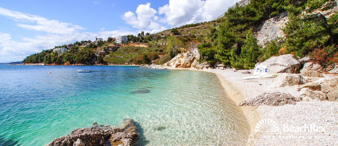 Hrvatska - Dalmacija  Split -  Stanići - Plaža Mala Luka