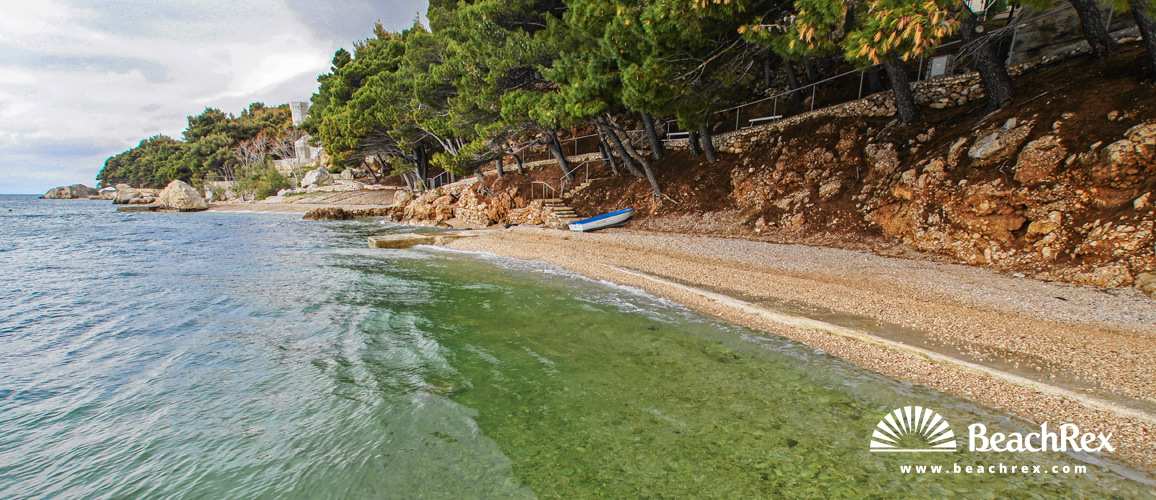 Croatia - Dalmatia  Split -  Lokva Rogoznica - Beach Ruskamen