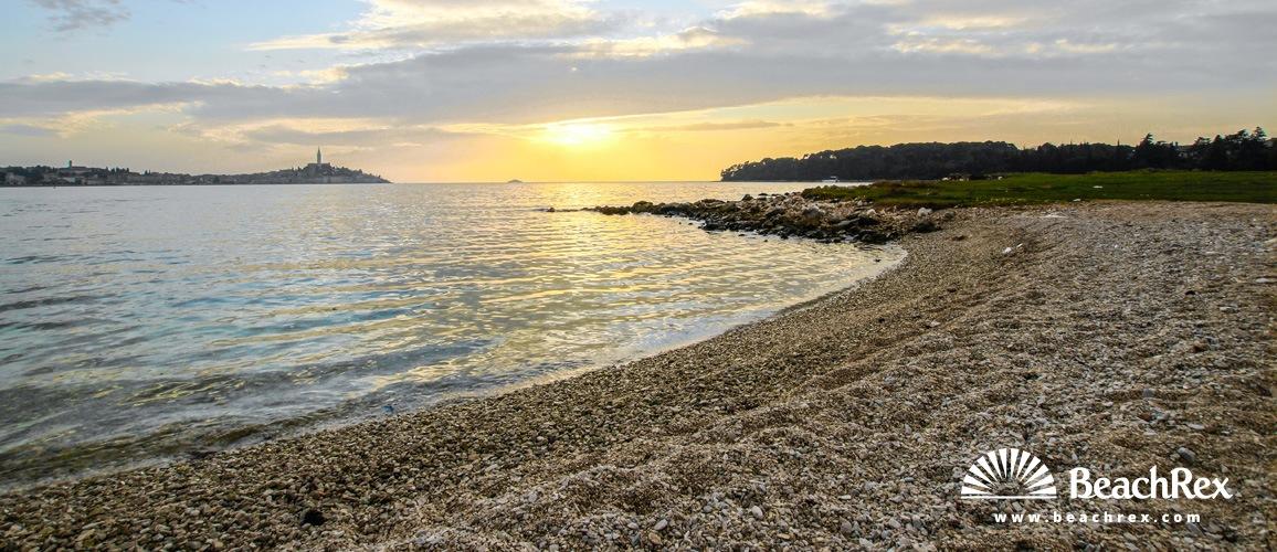 Croatia - Istra -  Rovinj - Beach Biondi