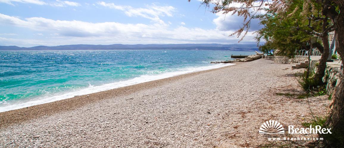 Croatia - Dalmatia  Split -  Mimice - Beach Juto