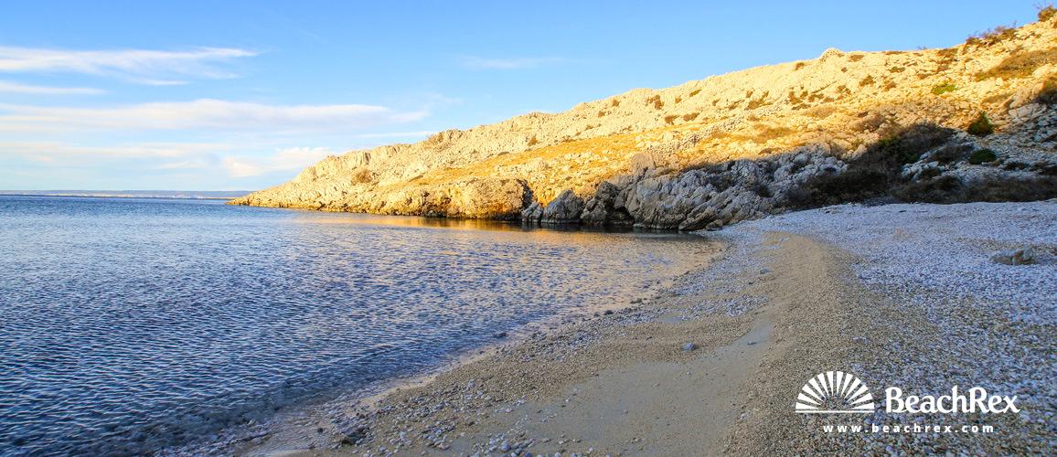 Croatia - Kvarner - Island Krk -  Stara Baška - Beach Surbova