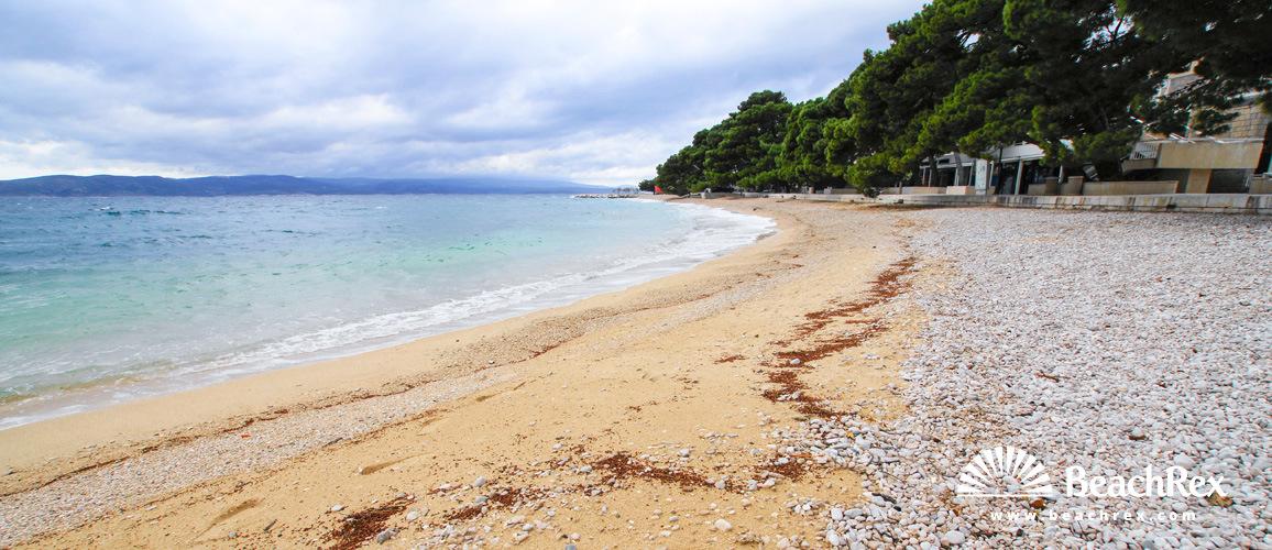 Hrvatska - Dalmacija  Split -  Brela - Plaža Soline
