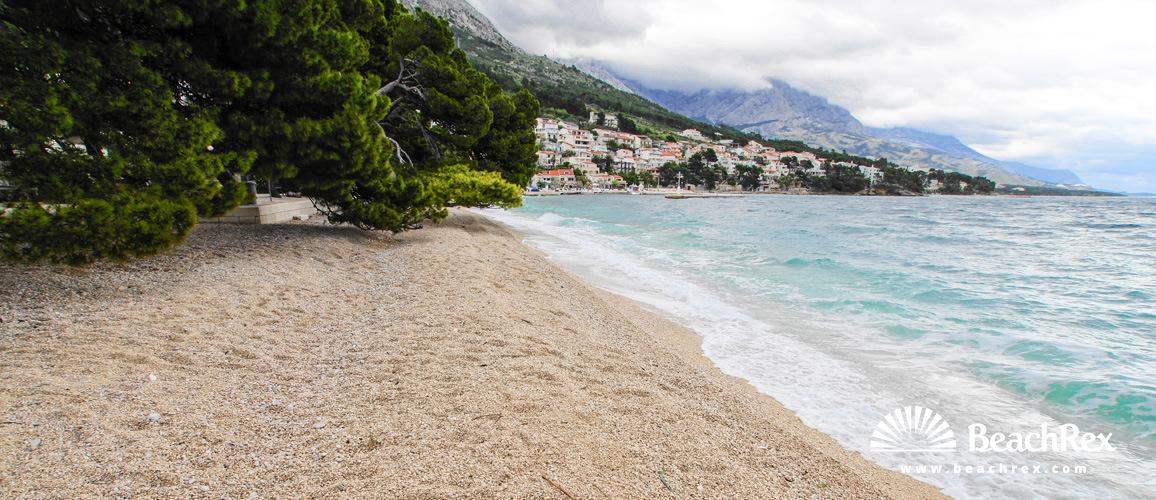 Croatia - Dalmatia  Split -  Brela - Beach Soline