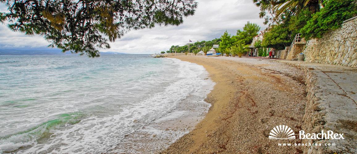 Hrvaška - Dalmacija  Split -  Brela - Plaža Lučica