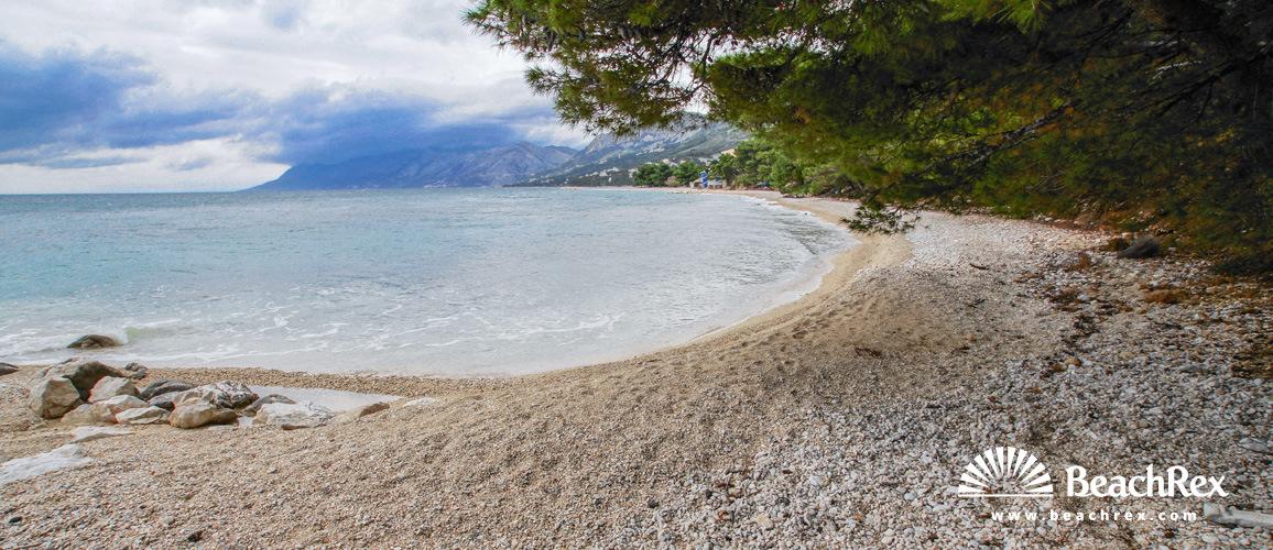Croatia - Dalmatia  Split -  Baška Voda - Beach Nikolina