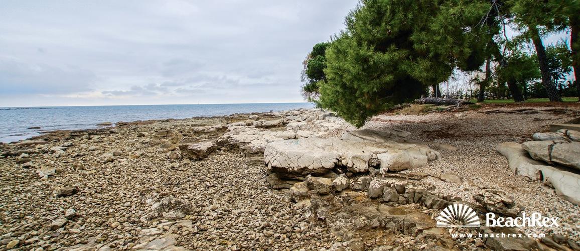 Croatia - Istra -  Zambratija - Beach Zambratija