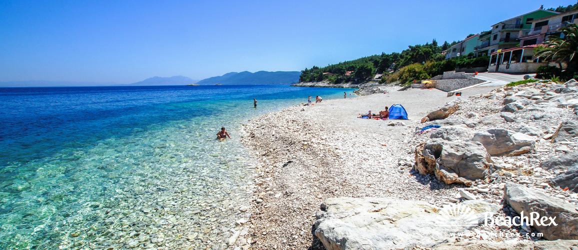 Croatia - Dalmatia  Dubrovnik - Island Korčula -  Prigradica - Beach Prigradica