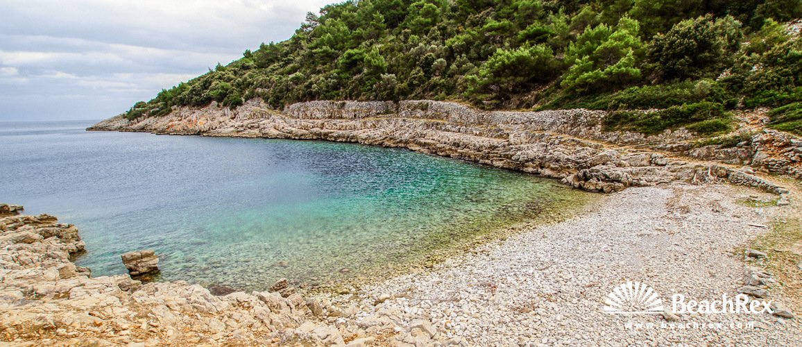 Hrvatska - Kvarner - Otok Lošinj -  Veli Lošinj - Plaža Javorna