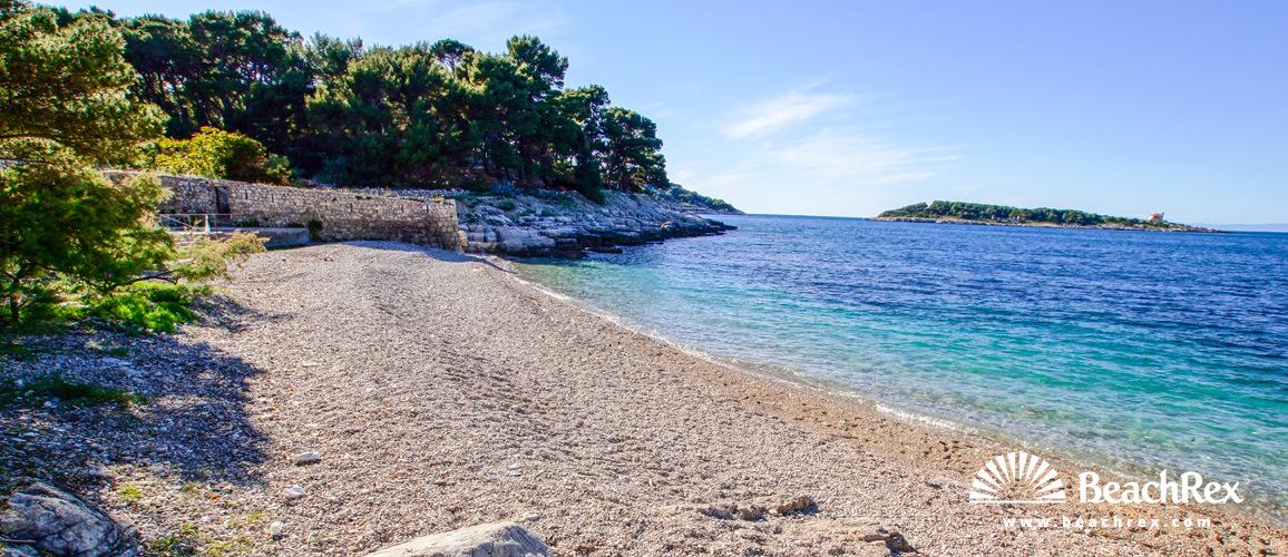 Croatia - Dalmatia  Split - Island Vis -  Vis - Beach Grandovac