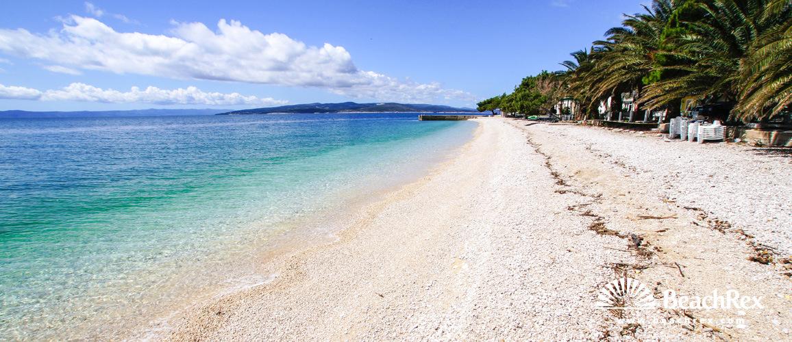 Croatia - Dalmatia  Split -  Promajna - Beach Bratuš