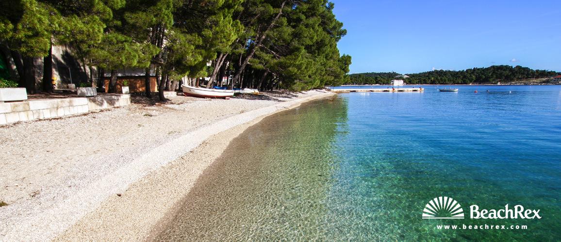 Hrvaška - Dalmacija  Split -  Makarska - Plaža Donja Luka