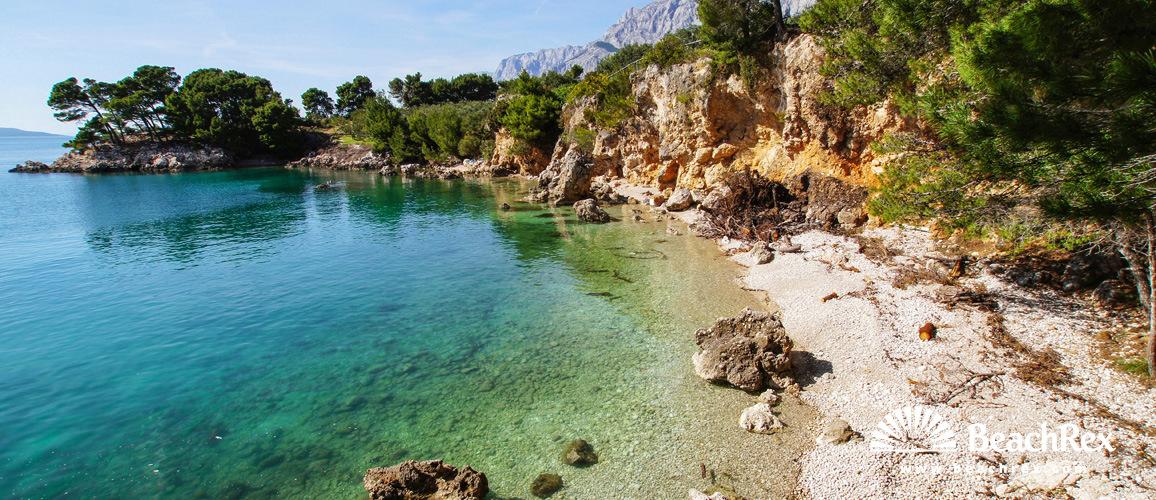 Croatia - Dalmatia  Split -  Podgora - Beach Garma