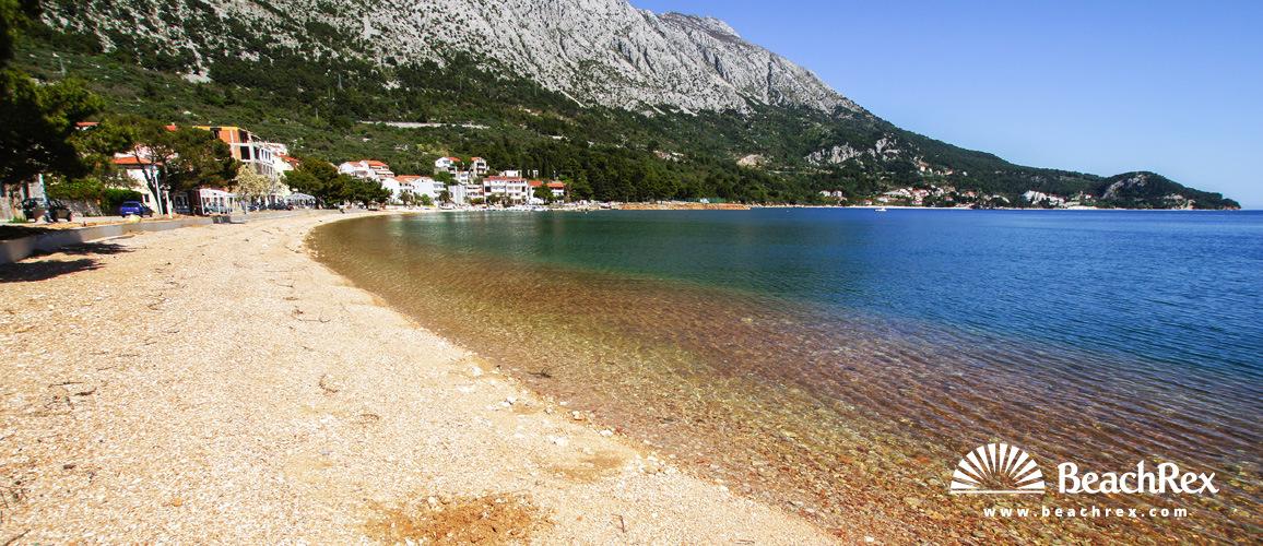 Hrvatska - Dalmacija  Split -  Igrane - Plaža Centar